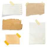 Brown-alter Papieranmerkungshintergrund Lizenzfreie Stockbilder