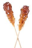 Brown amber sugar Royalty Free Stock Image