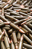 Brown ammunition Stock Image