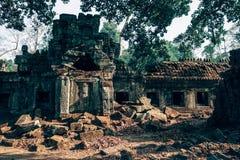 Brown Ancient Ruins Royalty Free Stock Image