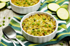 Free Brown And Wild Rice Zucchini Casserole Stock Photo - 77094070