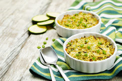 Free Brown And Wild Rice Zucchini Casserole Stock Image - 77094101