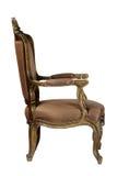 Brown antique chair retro style louis Stock Photos