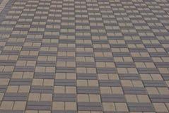 Brown apedreja a textura do pavimento na estrada fotografia de stock royalty free