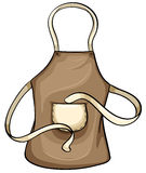 Brown apron Stock Image