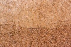 Brown aró el suelo Textura inconsútil de Tileable Foto de archivo
