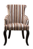 Brown armchair Royalty Free Stock Images