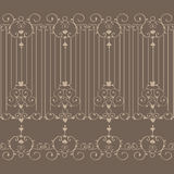 Brown Art Background icon great for any use. Vector EPS10. Stock Photography