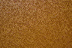 Brown artificial leather Royalty Free Stock Image