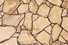 Brown artificial stone texture stock photography