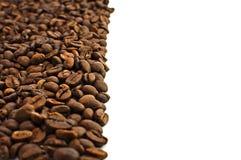 Brown asó los granos de café Foto de archivo libre de regalías