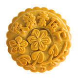 brown assorted fruits nuts mooncakes Stock Images