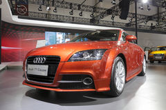 Brown audi tt coupe Royalty Free Stock Images