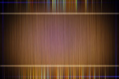 Brown background. Elegant brown background, colorful lines Stock Images