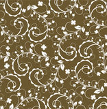 Brown background royalty free illustration