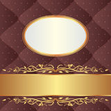 Brown background Royalty Free Stock Photography