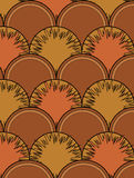Brown background. Brown abstract design background illustration Stock Photo