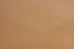 Brown Background Of Carton Paper. Royalty Free Stock Photography