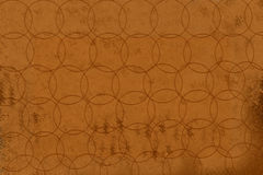 Brown Background with Circles Royalty Free Stock Photo