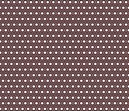 Decorative pattern of circles and dots. royalty free illustration