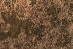 Brown background with green stains Royalty Free Stock Photography