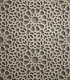 Brown background . Islamic ornament vector , persian motiff . 3d ramadan islamic round pattern elements . Geometric. Islamic ornament vector , persian motiff royalty free illustration