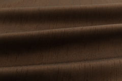 Brown background luxury cloth or wavy folds of grunge silk texture satin velvet. Abstract background luxury cloth or liquid wave or wavy folds of grunge silk Stock Photo