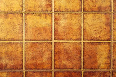 Brown background made of ceramic tile Royalty Free Stock Photo