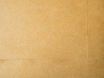 Brown background from paper envelopes. Stock Photos
