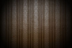 Brown background with a pattern Royalty Free Stock Image