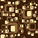 Brown  background from square. Geometric brown background from square Royalty Free Stock Photo