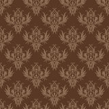 Brown background in style of retro royalty free illustration