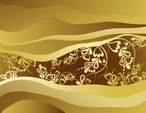 Brown background, vector Stock Images