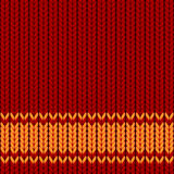 Brown background. Vector background in style of a knitted cloth Royalty Free Stock Image