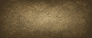 Free Brown Background With Crumpled Or Wrinkled Paper Texture In An Old Vintage Design, Dark Coffee Earthy And Dirty Color Stock Photography - 154850672