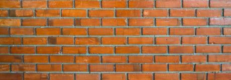 Brown-Backsteinmauer-Hintergrund Stockbild