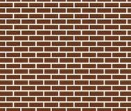 Brown-Backsteinmauerbeschaffenheitshintergrund Vektor Stockbilder