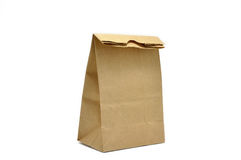 Brown Bag. This is Brown Bag.It a recycle material Royalty Free Stock Photo