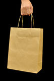 Brown Bag. This is Brown Bag.It a recycle material stock photo