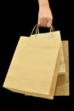 Brown Bag. This is Brown Bag.It a recycle material royalty free stock photography