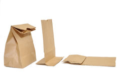 Brown Bag. This is Brown Bag.It a recycle material Stock Images