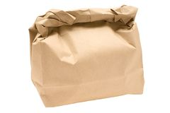 Brown Bag Royalty Free Stock Photos