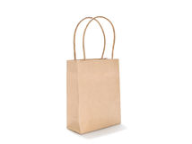 Brown bag Royalty Free Stock Photography