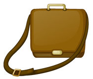 A brown bag Stock Image