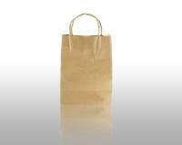 Brown bag paper Stock Images