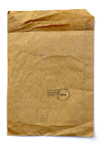 Brown Bag, a recycle material Royalty Free Stock Image
