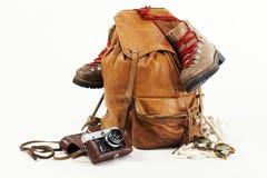 Brown bag Royalty Free Stock Photos