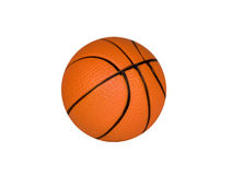 Brown ball for basketball Royalty Free Stock Images