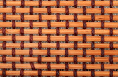 Brown bamboo mat Stock Image