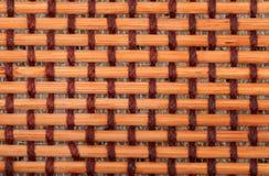 Brown bamboo mat Stock Image